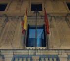 El cuatripartito rechaza izar de nuevo la bandera de la UE en el Parlamento navarro