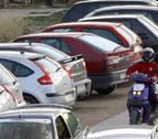 Cuatro robos en vehículos estacionados en Urbasa y en el alto de Lizarraga