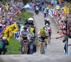 El navarro Erviti brilla en el gran triunfo de Sagan en Flandes