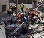 Dos muertos y tres heridos al derrumbarse un edificio en Tenerife