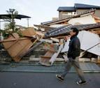 Dos potentes seísmos sacuden Japón y causan más de 30 muertos
