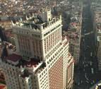 La mayor fotografía captada por un teléfono móvil se expone en el Edificio España