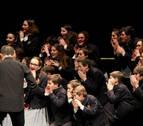 Concierto en Pamplona del Coro Infantil y la Escolanía del Orfeón Pamplonés
