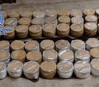 Se incautan en Pontevedra de 56 kilos de heroína, la mayor aprehensión del año