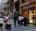 Crecen un 3,8% las ventas del comercio minorista navarro y un 1,4% el empleo