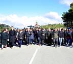 Ujué concentró a miles de romeros en su domingo más concurrido