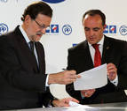 Esparza pedirá a Rajoy un convenio sobre el TAV con plazos e inversiones