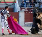 Un gran toro de Joselito pone el triunfo en bandeja a Del Álamo en Las Ventas