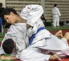 La cantera del judo navarro