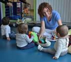 Las escuelas infantiles en Pamplona, gratuitas a partir del próximo curso