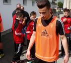 Álex Berenguer es baja para el partido ante la Real Sociedad en El Sadar