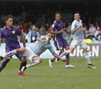 El Celta recupera la quinta plaza tras ganar al Málaga