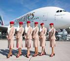Emirates Airlines busca tripulantes de cabina en Pamplona
