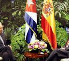 Raúl Castro recibe a García-Margallo y Pastor en La Habana