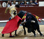 Del Álamo suma otra oreja en Madrid durante una tediosa corrida de la Prensa