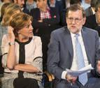 Rajoy acusa a Forcadell de rendirse a la CUP al recibir a Otegi