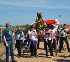 Sartaguda celebra la primera romería en honor a La Monlora