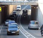 Una discusión de tráfico en el túnel de Pío XII termina con una denuncia por lesiones