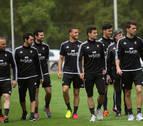 Charla y recuperación sin Torres, Oier y David García