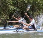 El río Arga acoge el Trofeo de Piragüismo Club Natación