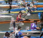 150 palistas sobre el río Arga