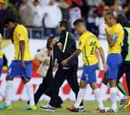 Perú elimina a Brasil con un gol con la mano