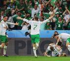 Irlanda se aferra a la Eurocopa a costa de los suplentes de Italia
