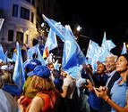 Rajoy agranda su victoria y Sánchez regatea el 'sorpasso'