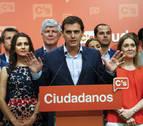 Albert Rivera emplaza a PP y a PSOE a negociar ya sin