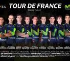 Imanol Erviti, en el '9' del Movistar Team para el Tour de Francia