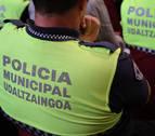 La policía interviene por altercados en un partido de fútbol regional en Pamplona