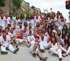 Comienza el ambiente de fiesta con la juventud de Mendavia y Sartaguda