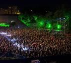 Tres denunciados por alterar el orden en el concierto de El Drogas en Tudela