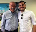Iker Casillas se reconcilia con Vicente Del Bosque