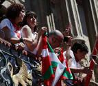 EH Bildu, Podemos e I-E, a favor de derogar la ley de Símbolos