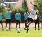 Primer entrenamiento de Mikel Merino con el Borussia Dortmund