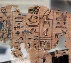 El museo de El Cairo expone el papiro más antiguo jamás descubierto