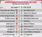Osasuna comenzará la liga en casa del Málaga