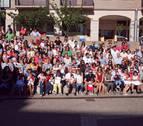 Tudela da la bienvenida a las fiestas a 258 niños