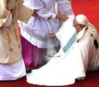El papa denuncia en la misa en Czestochova la tentación de buscar el poder