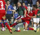 Osasuna y Numancia jugarán un amistoso en Arróniz por el aniversario del Zarramonza