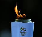 El atribulado recorrido de la antorcha olímpica por Brasil