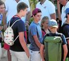 Los hijos de la infanta Cristina acuden con sus primos a la escuela de vela
