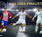 Cristiano, Bale y Griezmann nominados a mejor jugador de Europa