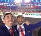 Así vivió Sergio Fernández la ceremonia de inauguración de los Juegos