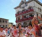 Funes abre sus fiestas 'empapado' de tradición