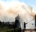 El Gobierno de Navarra cree que el incendio de Ororbia