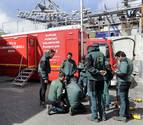 Se retrasa el rescate del espeleólogo francés en Larra