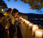 El Ayuntamiento de Pamplona elimina el ciclo de la 'Muralla a la luz de las velas'