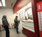 El paro creció un 22,41 % en Navarra en 2020 hasta sumar 40.637 personas